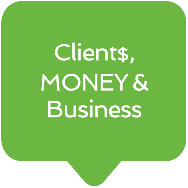 Freelance Clients, Money and Business icon