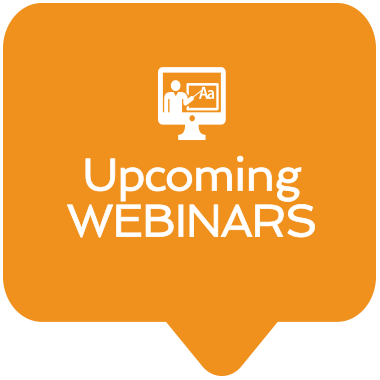 Upcoming Webinars icon